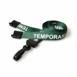 id lanyard for temporary staff