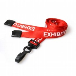 lanyards with badge holders for exhibitors