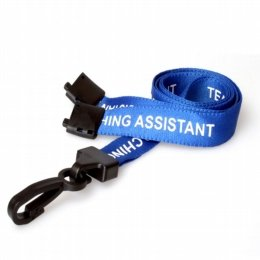 printed lanyard for teaching assistant