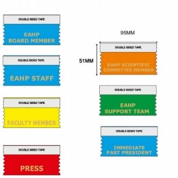 custom event ribbons and name tag ribbons