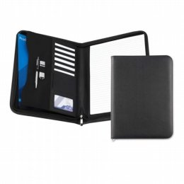 black a5 economy zipped folder