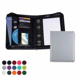 a5 deluxe zipped ring binder 5419