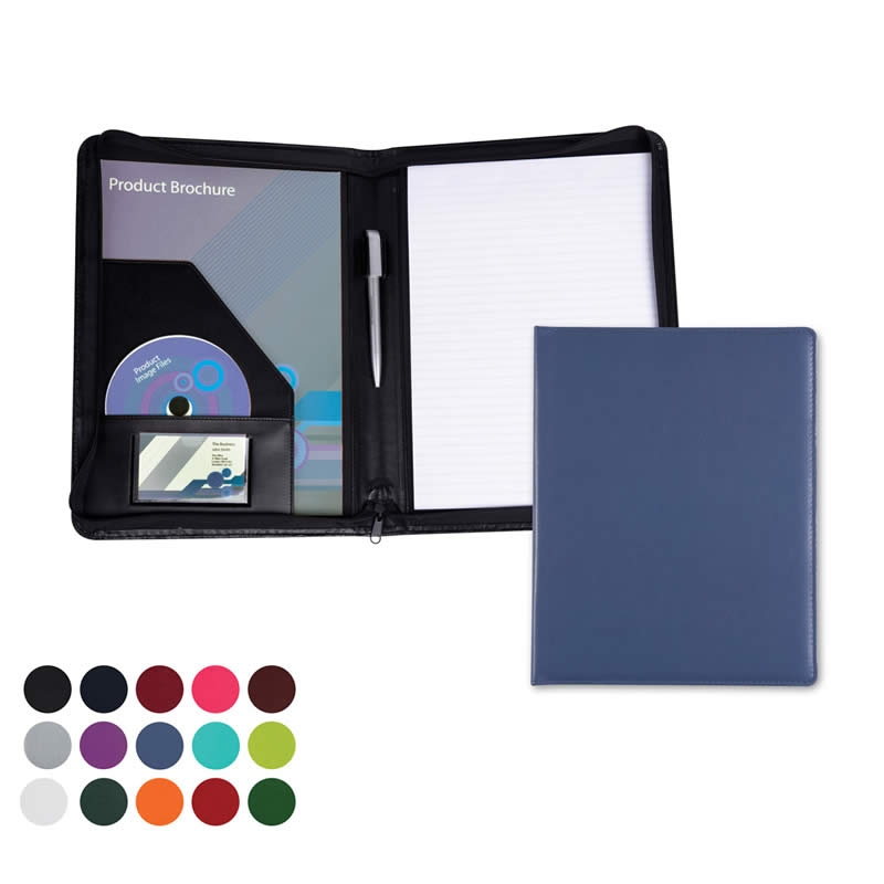 a5 deluxe zipped ring binder 5510