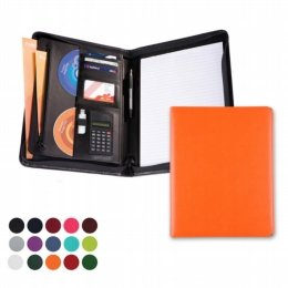 a5 deluxe zipped ring binder 5518