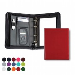 a5 deluxe zipped ring binder