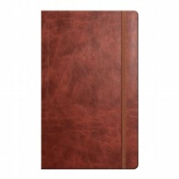 novara flexible cover notebook chestnut
