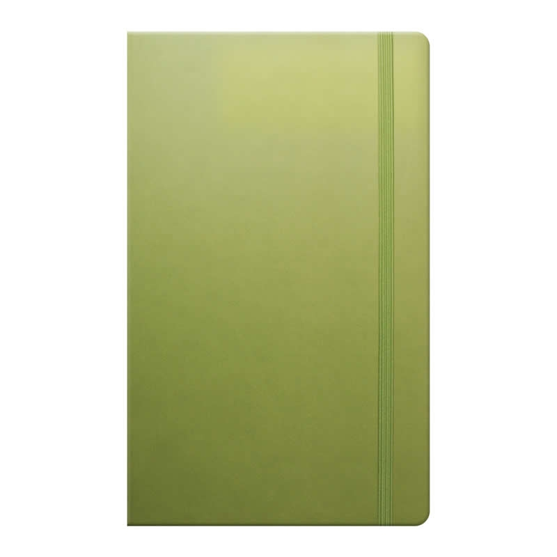 tucson flexible cover notebook bright green