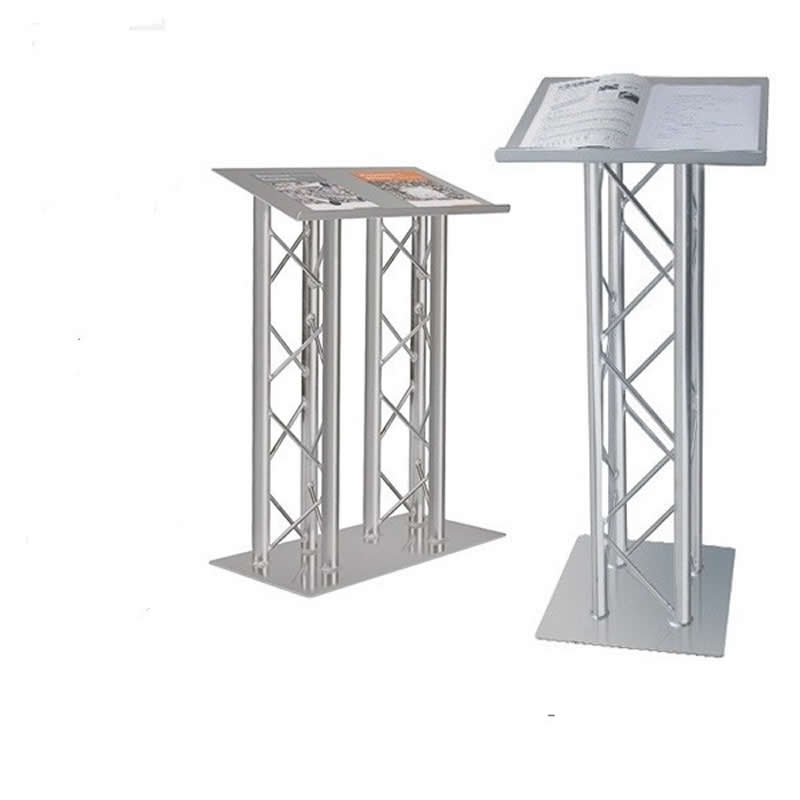 floor standing lectern 6 uprights
