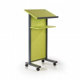 podium mobile lectern lime
