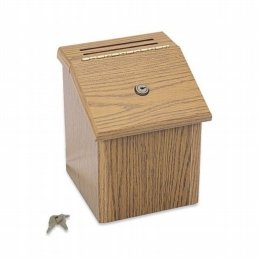 wooden ballot box 7
