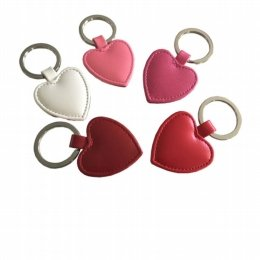 heart shaped key fob