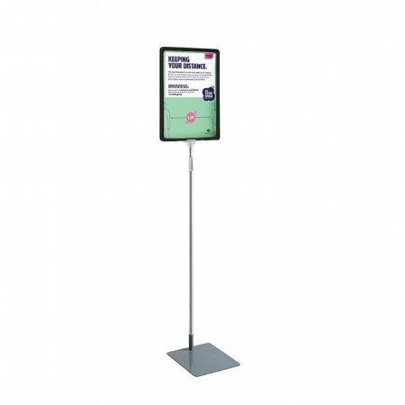 a3 adjustable height poster stand 1