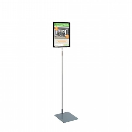 a4 poster display stand adjustable tall 1