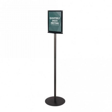 upright double sided a4 sign holder